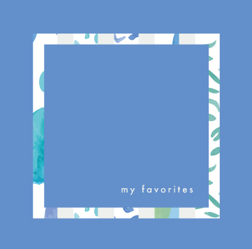 新譜ep「my favorites」10/27リリース!